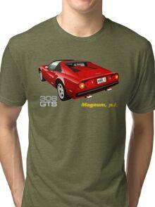 Ferrari 308 GTS from Magnum, p.i. Tri-blend T-Shirt