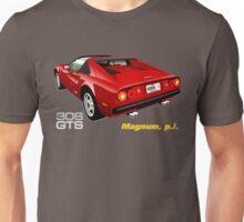 Ferrari 308 GTS from Magnum, p.i. Unisex T-Shirt