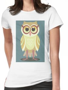 AFTER VISITING OPTOMETRIST Womens Fitted T-Shirt