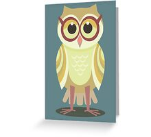 AFTER VISITING OPTOMETRIST Greeting Card