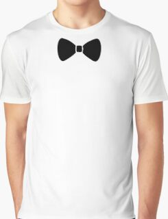Black Bow Graphic T-Shirt