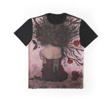 Sylvia - Forest Spirit Graphic T-Shirt