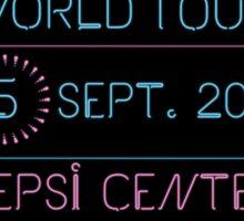 5th September - Pepsi Center Sticker