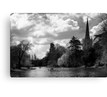 SHAKESPEARE'S RIVER Canvas Print