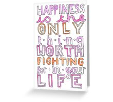 iisuperwomanii quote Greeting Card