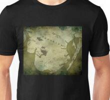 Brooklyn Map-Green Unisex T-Shirt