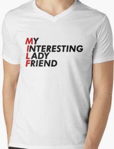 MILF (kimmy) Mens V-Neck T-Shirt