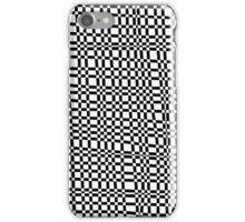 Unique abstract pattern of lines and squares iPhone Case/Skin