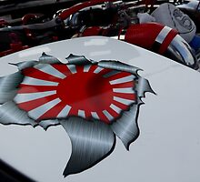 mazda japanese decal by Perggals© - Stacey Turner