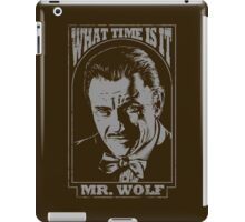 Mr. Wolf Pulp Fiction Movie Quote iPad Case/Skin