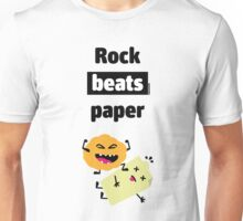 Rock Beats Paper Unisex T-Shirt
