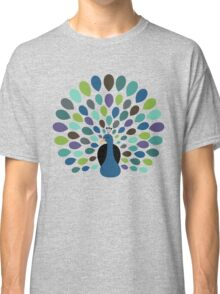 Peacock Time Classic T-Shirt