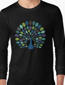 Peacock Time Long Sleeve T-Shirt