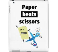 Paper Beats Scissors iPad Case/Skin