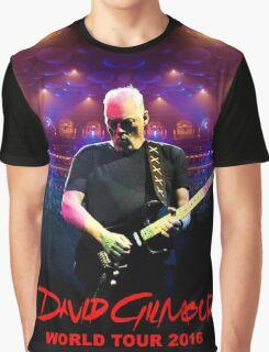 David Gilmour WORLD TOUR 2016 GAL03 Graphic T-Shirt
