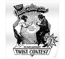 Twist Contest Pulp Fiction Movie Quote Poster
