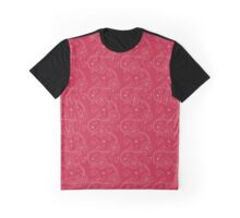 Flowers, Petals, Blossoms - Red White Graphic T-Shirt
