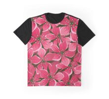 Flowers, Petals, Blossoms - Pink Graphic T-Shirt