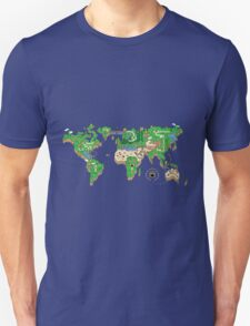 Mario World Map Unisex T-Shirt