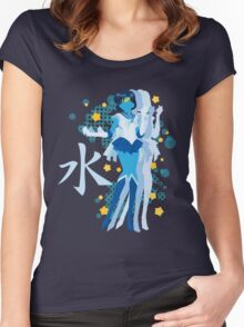 Soldier of Water & Wisdom Women's Fitted Scoop T-Shirt