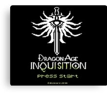 8-Bit Inquisition Canvas Print