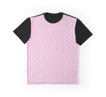 Flowers, Petals, Blossoms - Pink White Graphic T-Shirt