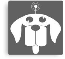 Dog FM Canvas Print