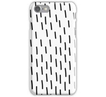 unique abstract pattern of lines and in Doodle style iPhone Case/Skin