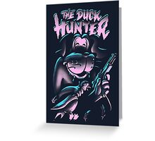 The Duck Hunter Greeting Card