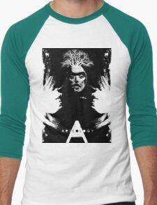 crow shaman Men's Baseball ¾ T-Shirt