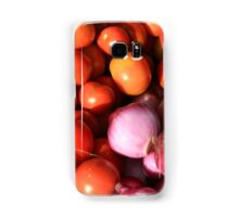 Tomatoes Onions and Peppers Samsung Galaxy Case/Skin