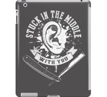 Stuck in the Middle Reservoir Dogs Movie quote iPad Case/Skin