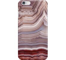 Agate crystal iPhone Case/Skin
