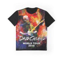 David Gilmour WORLD TOUR 2016 GAL07 Graphic T-Shirt