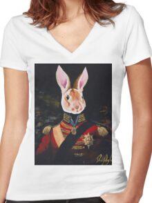 Duke Acell Women's Fitted V-Neck T-Shirt
