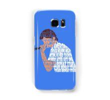 "Bo Burnham ""Repeat Stuff"" quote envelope mesh Samsung Galaxy Case/Skin"