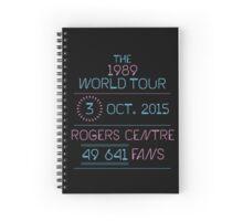 3rd October - Rogers Centre Spiral Notebook