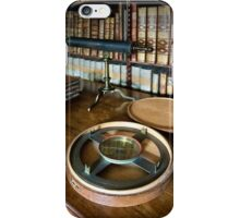 Dunham Massey -Library-Compass iPhone Case/Skin