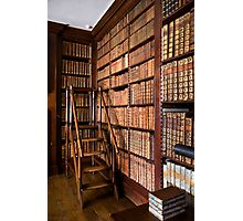 Dunham Massey -Library  Photographic Print