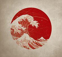 Hokusai - pillow by Nxolab