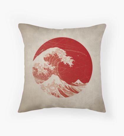 Hokusai - pillow Throw Pillow