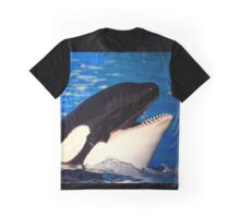 Happy Orca Graphic T-Shirt