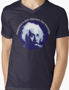 Einstein Quote Mens V-Neck T-Shirt