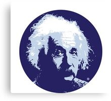 Einstein Quote Canvas Print