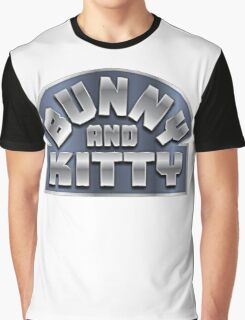 Bunny and Kitty Graphic T-Shirt
