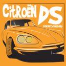 Citroen DS by velocitygallery