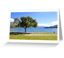 Tree View - Wanaka, New Zealand Greeting Card