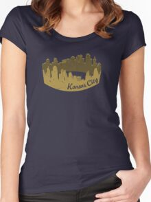 Crown City Women's Fitted Scoop T-Shirt