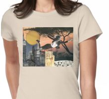 I'LL FLY AWAY  Womens Fitted T-Shirt