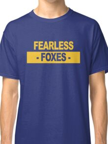 """Team Leicester: """"Fearless Foxes"""" (light shades) Classic T-Shirt"""